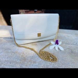Authentic Givenchy vintage White chain Bag